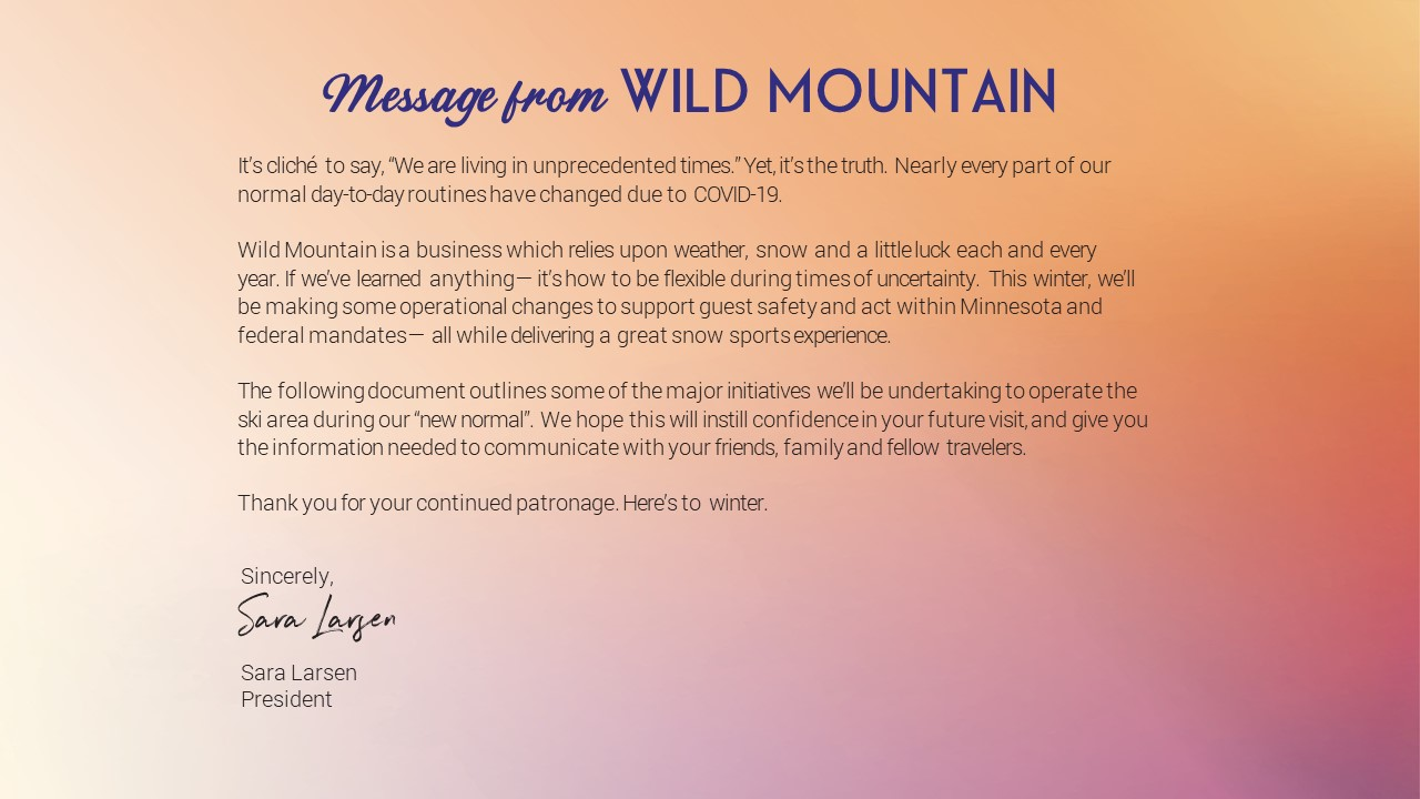 Message From Wild Mountain