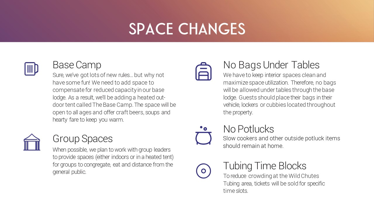 Space Changes