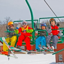 First day for Junior SnowSports Instructor Training
