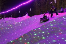 Starlight Snow Tubing