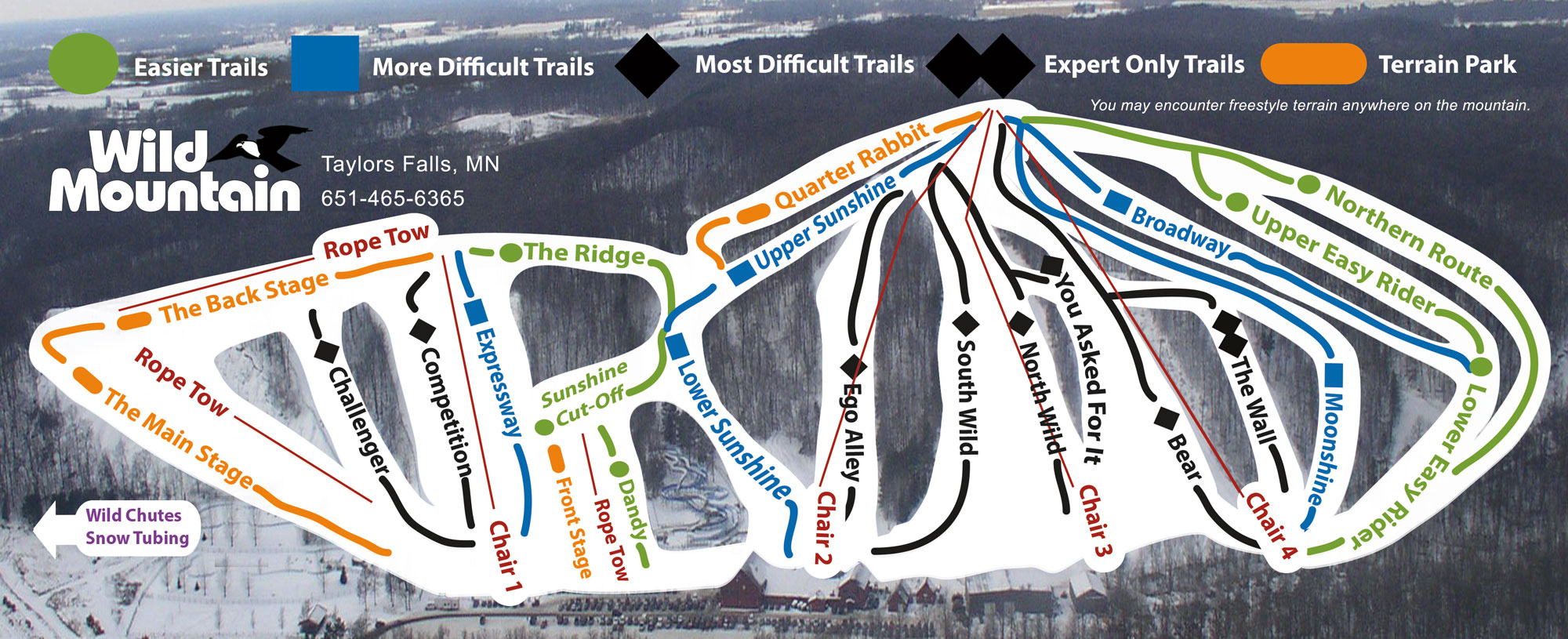Trail Map 2017